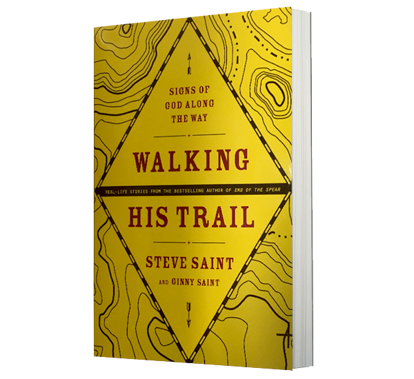 walking his trail book steve saint